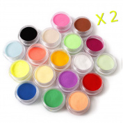 Warm Girl 36 Colour Acrylic Powder Nail Art Tool Kit