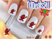 General Nail Decals - Red Devil - WaterSlide Nail Art Decals - Highest Quality! Made in USA