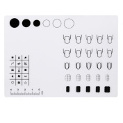 Kingfansion Silicone Workspace Stamping Plate Washable Mat Table Transfer Tools For Nail Art