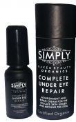 Best Organic Under Eye Cream. Simply Complete Under Eye Repair. For Under Eye Wrinkles, Puffy Eyes and Dark Circles. Certified Organic Nourishment for the Skin.