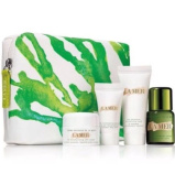 La Mer Deluxe Gift Set CREAM DE LAMER 5 Pc Set Including Pouch Makeup Bag