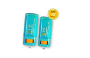 2Pcs AHC Natural Shield Sun Stick UV Protection SPF50+ PA+++