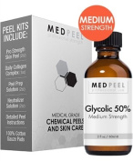 Glycolic Acid 50% Peel 60ml Peel for Fine Lines, Wrinkles, and Dark Spots