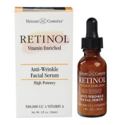 (1) Retinol Anti-Wrinkle Facial Serum & a FREE (1) Lip Gloss Stack- Colours vary upon availibility