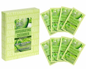 Jean Pierre Pure And Simple Invigorating Cucumber Revitalising Wash Off Mask Treatments-8 Count