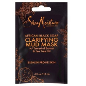 SheaMoisture African Black Soap Clarifying Mud Mask with Tamarind Extract & Tea Tree Oil 15ml