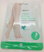 Absolute New York- Repair & Care Foot Mask (Peppermint)- 1 pair