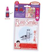Puresmile 2-Step Facial Mask Pack Placenta 5pcs