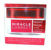 Miracle Correct Night Mask Super Hydrating and Firming 50ml