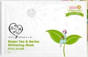 My Scheming Green Tea & Barley Whitening Mask ,5PCS , NO BOX