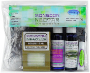 Monsoon Nectar Sunset Travel Kit ~ Soothing / Calming * TSA Approved