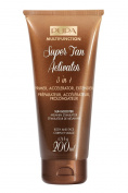 PUPA Super Tan Activator 3-in-1-Multifunction Tanning Cream for Face and Body 200 Ml / 6.76 Fl. Oz