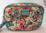 Nicole Miller Medium Floral Cosmetic Travel Bag