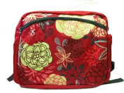 Simply Good Ultra Tote Bag, Red Marigolds/Roses