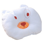 Blue Cartoon Pattern Design Baby Positioner Pillow for sleeping , Prevent Flat Head Super Comfortable and cotton & Hypoallergenic Newborn Protective Sleep Pillow