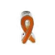 Orange Ribbon Awareness Charms Set of 3