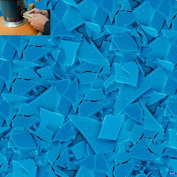 KERR TURQUOISE BLUE FLAKE INJECTION WAX PKG OF 0.5kg