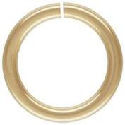 18K Gold Overlay Open Jump Ring JOG-100-10MM