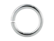Silver Overlay Open Jump Ring JOSF-100-10MM