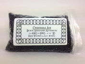 1/2 Pound Black Anodized Aluminium Jump Rings 18G 0.4cm ID