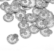 ULTNICE 50pcs Vintage Steampunk Gears Charms Cog Watch Wheel for Jewellery Making