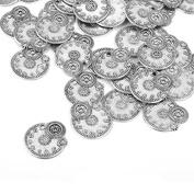 ULTNICE 50pcs Vintage Steampunk Gears Charms Cog Watch Wheel for Jewellery Making