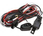 New 12V Universal HID Driving Spot Light Wiring Harness Kit 40A Switch Relay