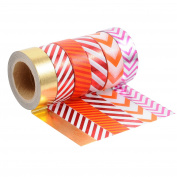 Outee Washi Masking Tape Set of 6, Japanese Decorative Roll Collection for DIY Crafts, 15mm x 10m