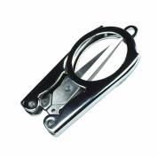 GOOTRADES EDC Folding Scissors Pocket Travel Small Cutter Crafts