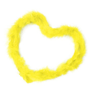 Gilroy 2m Marabou Feather Boa For Costume Dress Party Wedding Decoration Xmas Gift - Yellow