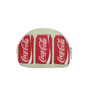 Coca-Cola Can Screen Printed Canvas Small Cosmetic Bag