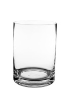 CYS® Glass Cylinder Vase. H-25cm , Open D-15cm