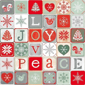 Joy Love Peace~Cotton Fabric by Studio E