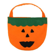 Lookatool Halloween Smile Pumpkin Bag Kids Candy Bag Children