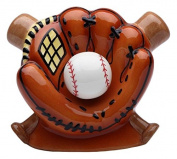 StealStreet SS-CG-10468 15cm Ceramic Baseball in Glove with Bats Money Piggy Bank