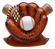 StealStreet SS-CG-10468 15cm Ceramic Baseball in Glove with Bats Money Piggy Bank