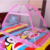 Baby Mosquito Net Baby Toddler Bed Crib Canopy Netting Dome Hanging Mosquito Soft Breathable