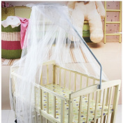 Eonkoo Baby Mosquito Net Baby Toddler Bed Crib Canopy Netting Dome Hanging Mosquito Soft & Breathable
