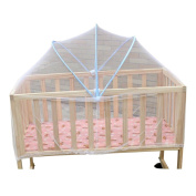Eonkoo New Foldable Baby Kids Infant Nursery Bed Crib Canopy Safty Arch Mosquito Net Netting Play Tent House