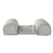 Striped Cotton Baby Head and Neck Support Pillow Newborn Sleeping Cushion