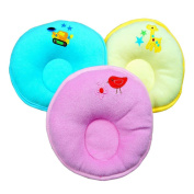 Random Colour Cartoon Pattern Design Baby Positioner Pillow for sleep , Prevent Flat Head With Super Comfortable and cotton Newborn Protective Sleeping Pillow