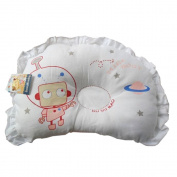 Random Colour Cartoon Pattern Design Newborn sleeping Positioner Pillow for Prevent Flat Head, Super Comfortable Soft Cotton Protective Sleep baby Pillow for kids