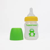 Tupperware Baby Feeder Green Frog Bottle with Teat 150ml + FREE Express Shipping