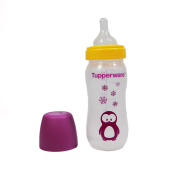 Tupperware Baby Feeder Purple Penguin Bottle with Teat 150ml + FREE Express Shiping