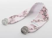 Baby Laundry LatchOn Nursing Cover Latch, Boys Girls Styles - Damask Blush