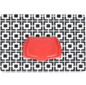 Slim Design Wet Wipes Pouch wipes case box , Geometric,BPA, PVC and Phthalate free