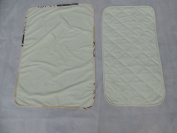 Changing Pad Liner And Multi Use Pad Bamboo Waterproof Washable Set By Healthy Baby Ideas