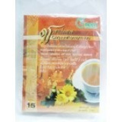 3 X New Dr.Green : Chrysanthemum New Herbal Tea 100% 15g. (15 Teabags)Product of Thailand