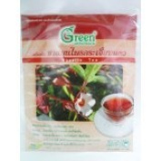 3 X New Dr.Green : Roselle New Herbal Tea 15g (15 Teabags) Product of Thailand
