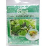 5 X New Dr.Green : Mulberry Leaf New Herbal Tea 100% 15g. Product of Thailand